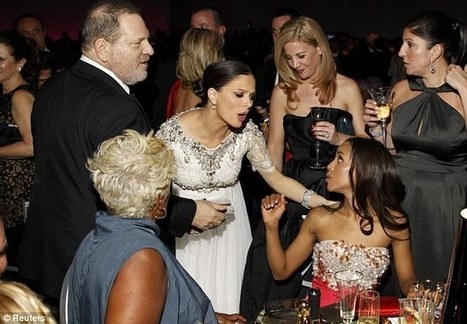 d8083fb732b6 Not the best career move! Kerry Washington risks Harvey Weinstein s wrath  after NOT wearing his wife s fashion label to the Oscars