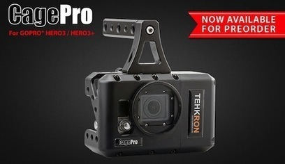 CagePro – GoPro Powered Cage w/ Canon LP-E6 Battery » CheesyCam | Belize International Film Festival | Scoop.it