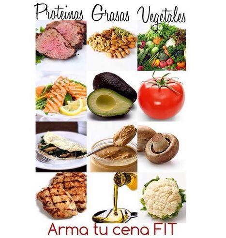 ¿Cómo preparar una cena saludable? (Infografía) | Alimentación y Calidad de Vida | Scoop.it