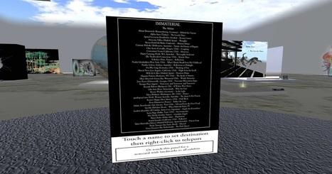 The University of Western Australia (UWA) in Second Life: IMMATERIAL: List of Entriesof the Art Exhibition | Mundos Virtuales, Educacion Conectada y Aprendizaje de Lenguas | Scoop.it