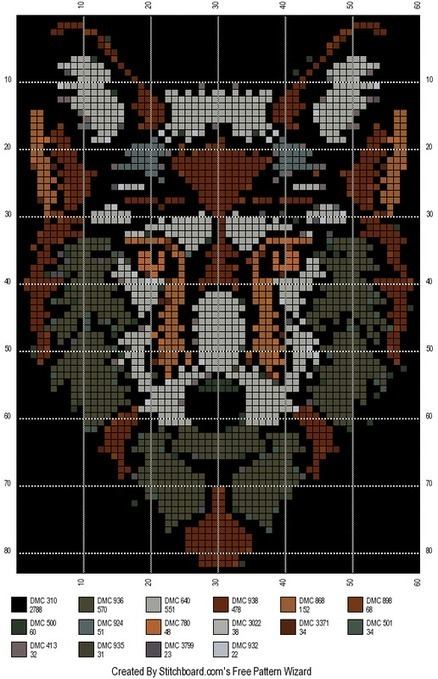 Animal Cross Stitch Patterns In Free Crochet Patterns Scoop