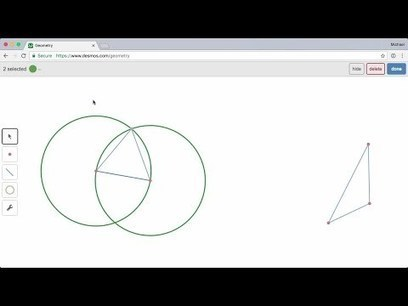 Desmos Now Offers an Online Geometry Tool via @