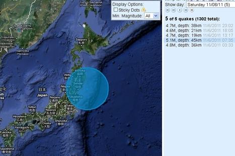 [séisme] Journée assez mouvementée ce samedi sur le Japon | Japan Quake Map | Japon : séisme, tsunami & conséquences | Scoop.it