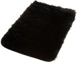 17 x 24 Kess InHouse Wild Faces Black Purple Memory Foam Bath Mat