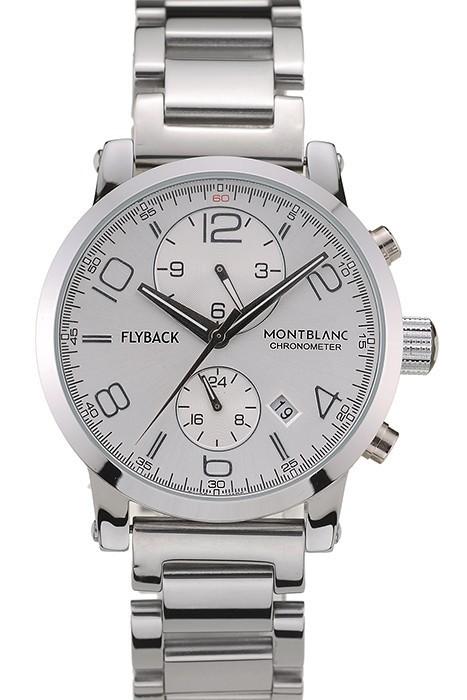 b7b664b1808 Cheap Copy MontBlanc Flyback Chronograph Mens Watch