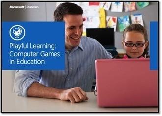 Playful Learning: Computer Games in Education eBook [sponsored by Microsoft] | Jogos educativos digitais e Gamificação | Scoop.it