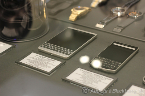 Le BlackBerry Passport Silver Edition dispo chez Colette | Addicts à Blackberry 10 | Scoop.it