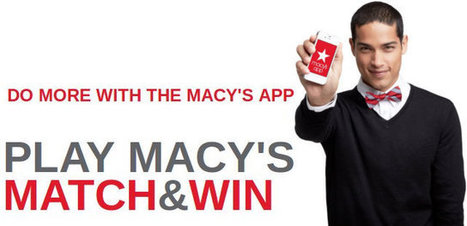 Macy's Match & Win Instant Win Game! | Coupons & Deals | Scoop.it