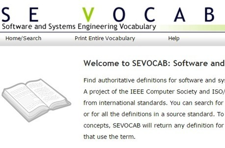 An Online Dictionary of Hi-Tech Terms for Technical Writers: SE VOCAB | Technical Communication Center | Developing Apps | Scoop.it