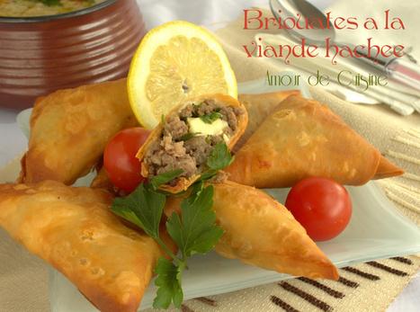 bricks ou bourek a la viande hachee | Cuisine Algerienne, cuisine du monde | Scoop.it