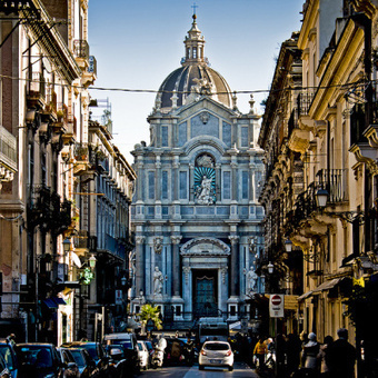 Catania Cathedral, Sicily.   Beautiful places.   Scoop.it