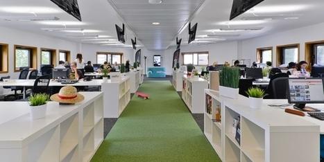Comment aménager vos bureaux pour encourager le travail collaboratif | Ressources Humaines | Scoop.it
