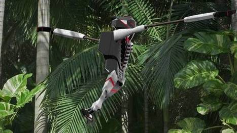 Robot monkey designed to transport small packages to dense, remote areas | Robotics | Scoop.it