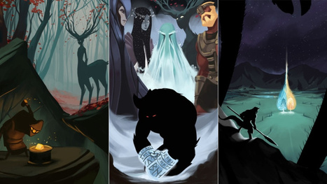 Dresden Codak creator illustrates each chapter of The Silmarillion   Transmedia Means   Scoop.it