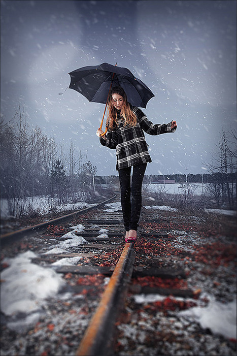 Add realistic falling snow to a photo in Photoshop | Photoshop Photo Effects Journal | Scoop.it