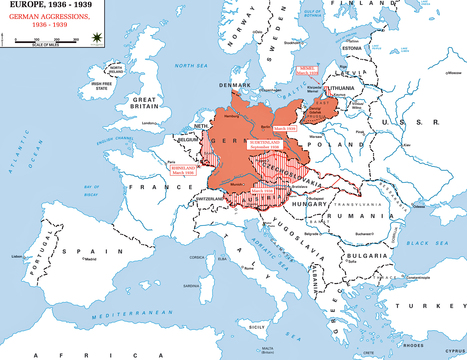 Auschwitz the nazi and the final solution 15 map of germany during world war ii gumiabroncs Choice Image
