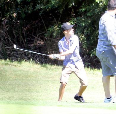 Quand Justin Bieber joue au golf… | X17 France | Golf News by Mygolfexpert.com | Scoop.it