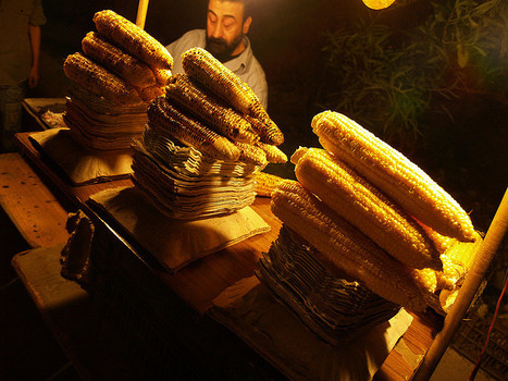 Sweetcorn Seller in Damascus | Postcolonial mind | Scoop.it