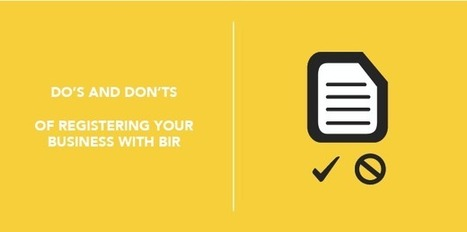 Do's and Don'ts of Registering your Business with BIR - Full Suite | Anything I Can Share | Scoop.it