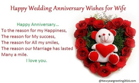 Happy wedding anniversary wishes messages for w happy wedding anniversary wishes messages for wife m4hsunfo