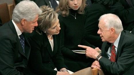 Carter dismisses Clinton's State work | Global politics | Scoop.it