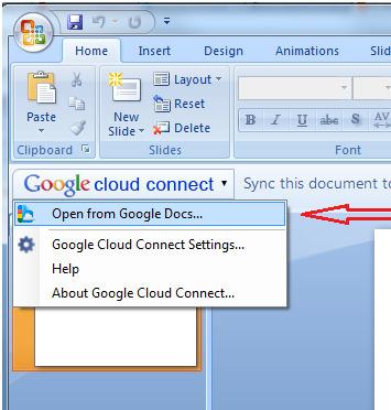 Google Cloud Connect : Ouvrez vos fichiers Google Docs directement dans Microsoft Office   Time to Learn   Scoop.it