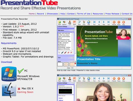 PresentationTube Recorder | Digital Literacy & 21st Century Learners | Scoop.it