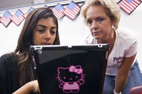 PUSD students use iPads - DailyBulletin.com | 1:1 iPad Program | Scoop.it