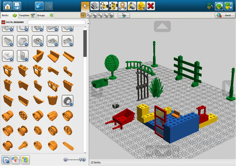 LEGO Digital Designer - Créer en 3D à l'école primaire | History 2[+or less 3].0 | Scoop.it