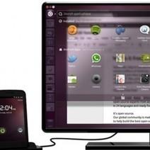 Un aperçu d'Ubuntu pour Android en vidéo | le manchot rôti | Scoop.it
