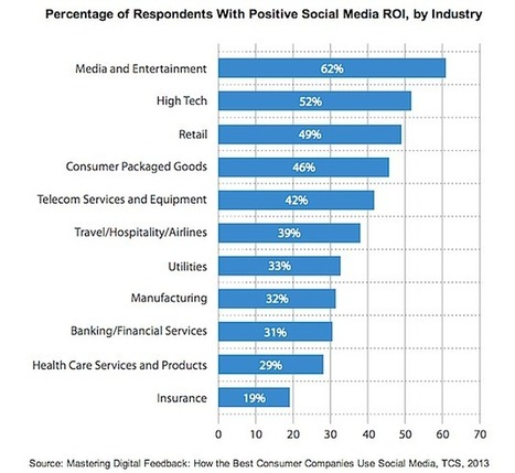 Are Companies Getting a Positive ROI From Social Media? | Infographics and Social Media | Scoop.it