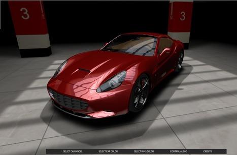 +360º - Car Visualizer - Three.js | Amazing HTML5 | Scoop.it