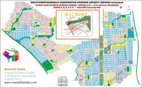 Sector B-17 Multi-Gardens Block F Launch, Prices and Booking Details | Islamabad Real Estate | Scoop.it