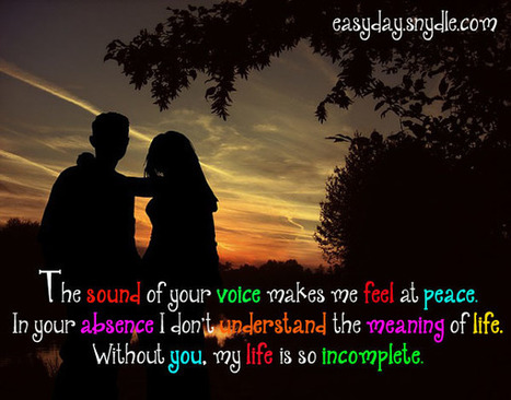 Your Voice Gives Me Peace The Best Quotes Of