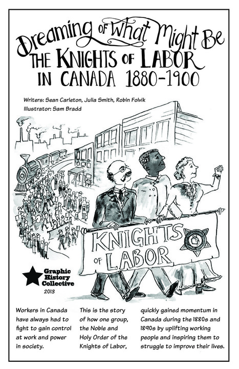Graphic History Collective - Dreaming of What Might Be: The Knights of Labor   Pop Culture in Education   Scoop.it