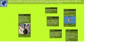 Encuesta  a los chicos de primaria sobre la frase más votada del discurso de San Martín antes de la batalla de Chacabuco. | San Martín y El Cruce de Los Andes | Scoop.it