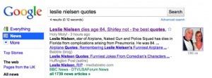 Journalisme et réseaux sociaux : 11 tendances pour 2011 leslie-nielsen-quotes-top – Citizenside blog | Evolution des médias, journalisme et RP 2.0 | Scoop.it