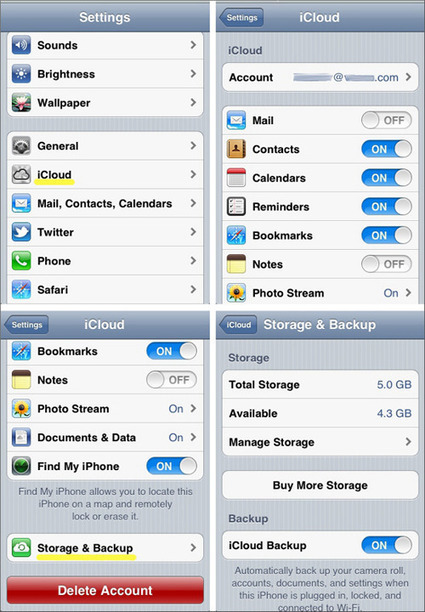 Get Organized: Back Up Your Android, iPhone, or iPad | PCMag | How to Use an iPhone Well | Scoop.it