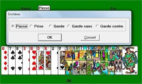 daa0b330062874 Jeux Jouer au tarot contre l ordinateur