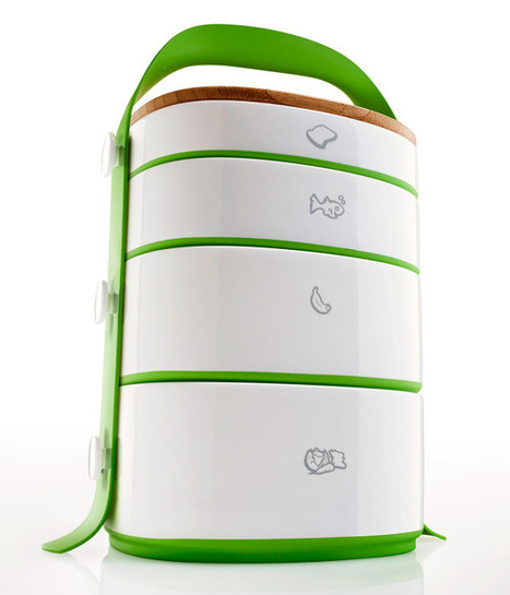 Dabba – The Lunchbox by Rob Englert of Ram Industrial Design » Yanko Design | asian food trends | Scoop.it
