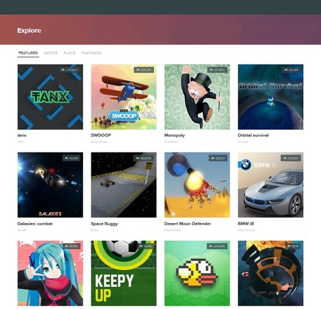 PlayCanvas, una herramienta de código abierto para crear videojuegos | Maestr@s y redes de aprendizajes | Scoop.it