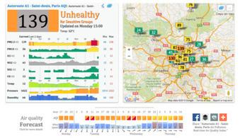 Votre ville est-elle polluée ? Cette carte interactive va vous le révéler | Communiqu'Ethique sur la santé et celle de la planette | Scoop.it