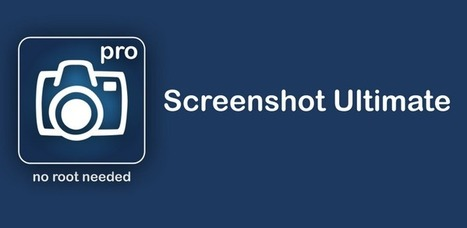 Screenshot Ultimate Pro 2.8.6 apk | Tech,Trends,UX,Embedded,Android | Scoop.it