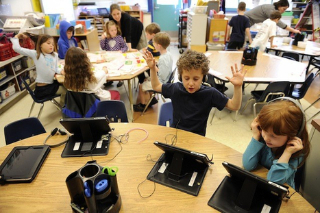 Are iPads and Other Classroom Gadgets Really Helping Kids Learn?   Creative Tools... and ESL   Scoop.it