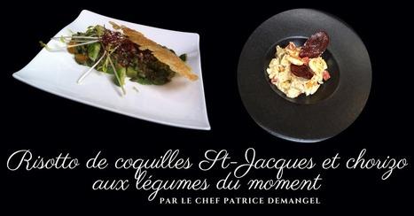 Risotto de coquilles St-Jacques et chorizo aux légumes du moment - Essor | Cuisine et cuisiniers | Scoop.it