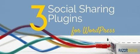 3 Great Social Sharing Plugins for WordPress | RazorSocial | Social Influence Marketing | Scoop.it