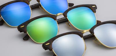 aa0dc3c622b19 Lentes de sol Ray-Ban Clubmaster Flash Lenses - Sunglass Island