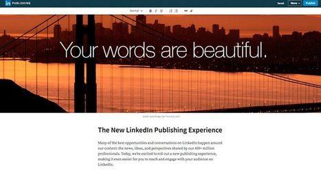 Linkedin mejora su editor de publicaciones para llegar a más audiencia | Parental Responsibility | Scoop.it