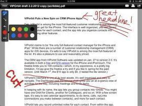 Check and Annotate Articles from your iOS Device | Mobile Journalism Apps | Scoop.it