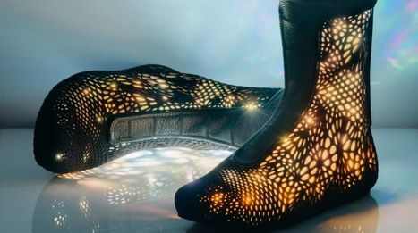 These Sols Adaptiv high-tops are 3D printed, robotic and adapt to your feet | shubush digital | Scoop.it